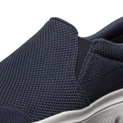 thị trường giày nam Skechers Giày nam Skechers Giày thời trang Giày lười đi bộ một mảnh Giày nhẹ tho