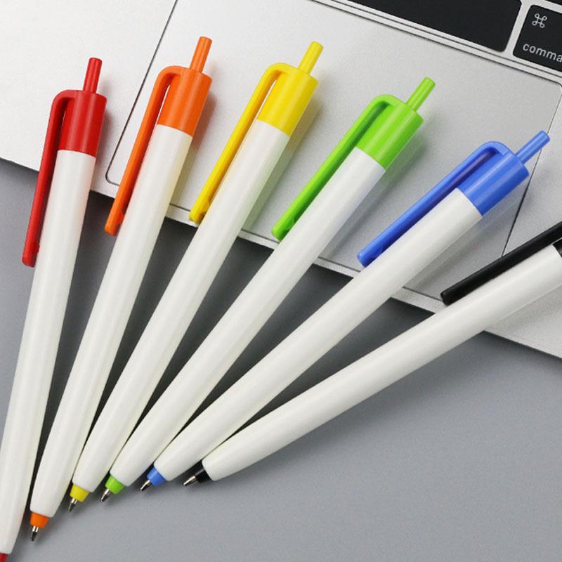 Feeling Care Bút bi nhựa nhà sản xuất tùy chỉnh Bút bi Bút tùy chỉnh logo Hội nghị viết bút Tùy chỉn