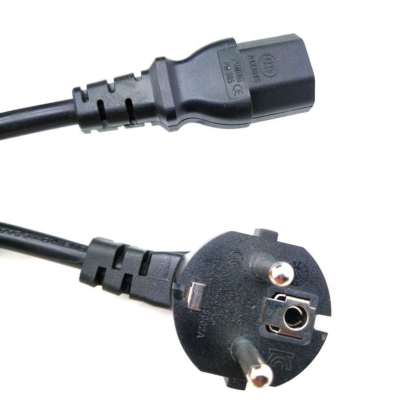 PM Dây nguồn , dây cắm điện tiêu chuẩn Hàn Quốc ba phích cắm