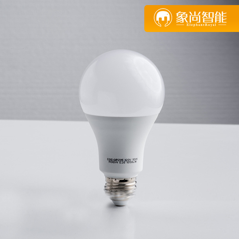 XIANGSHANG Bóng đèn LED Bóng đèn thông minh WiFi Bóng đèn LED Bóng đèn nhiều màu Bóng đèn Alexa Echo