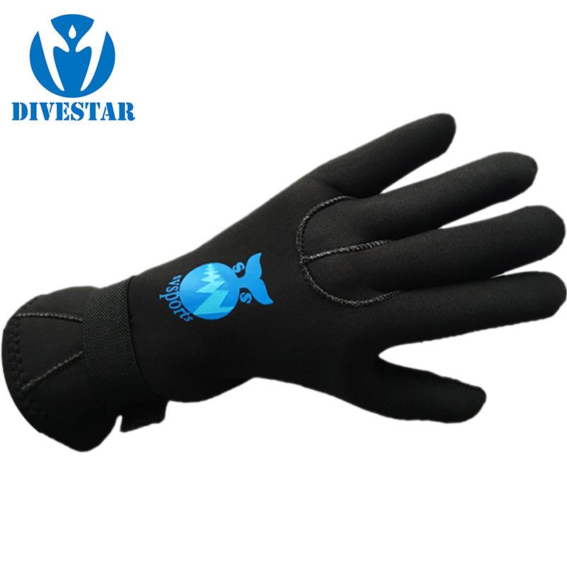 DIVESTAR Găng tay chống cắt Găng tay lặn DIVESTAR Găng tay thể thao chống cắt 3 mm Găng tay chống tr