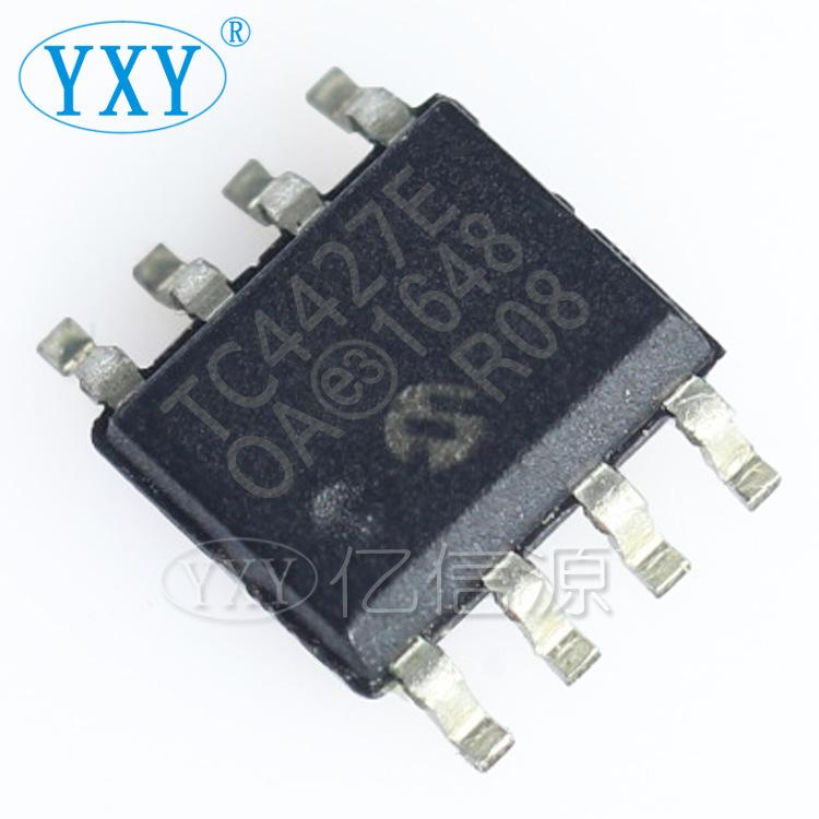 YIPINYUAN IC điều khiển cổng hoàn toàn mới TC4427EOA TC4427E