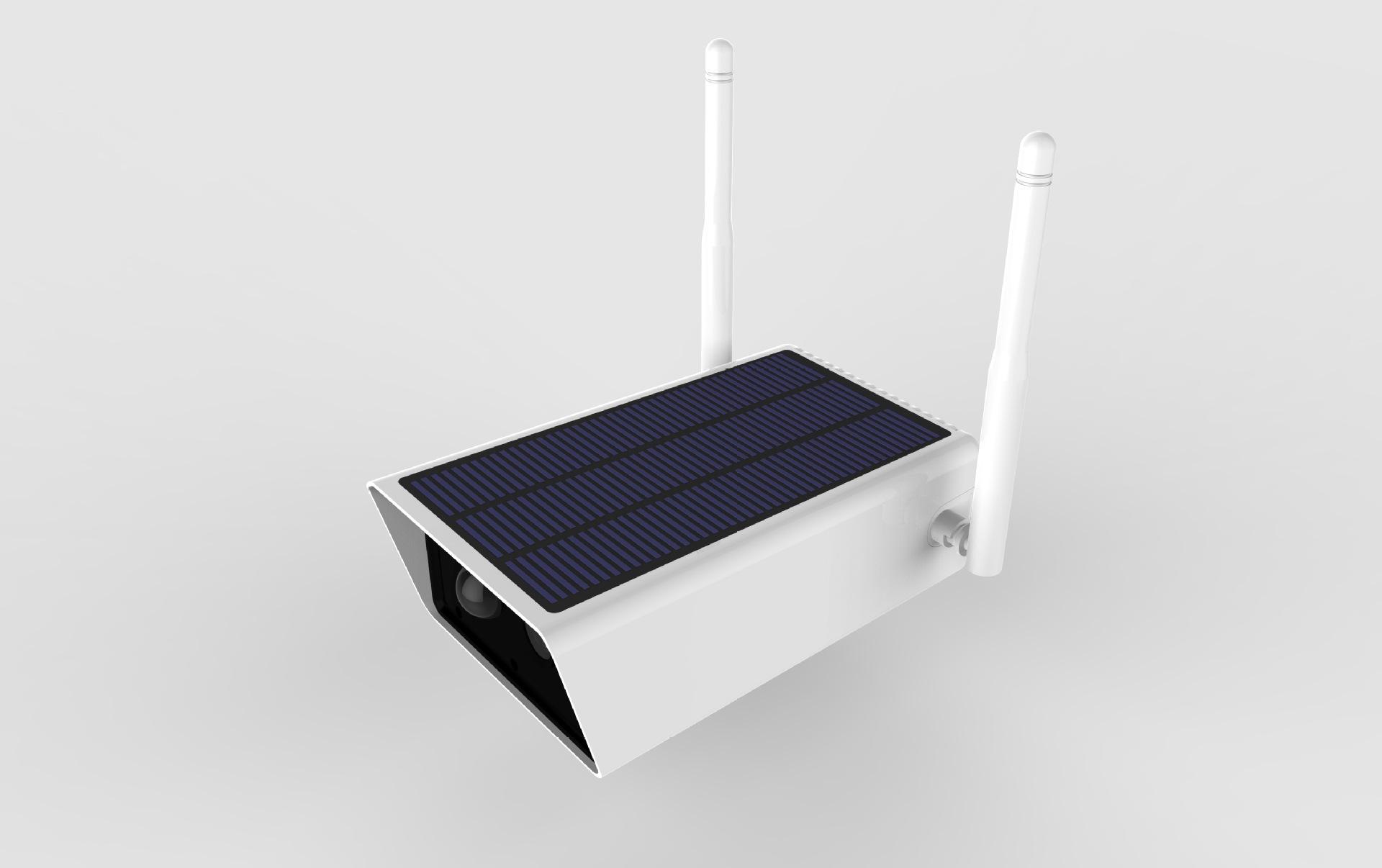 Camera giám sát dùng năng lượng mặt trời thấp .