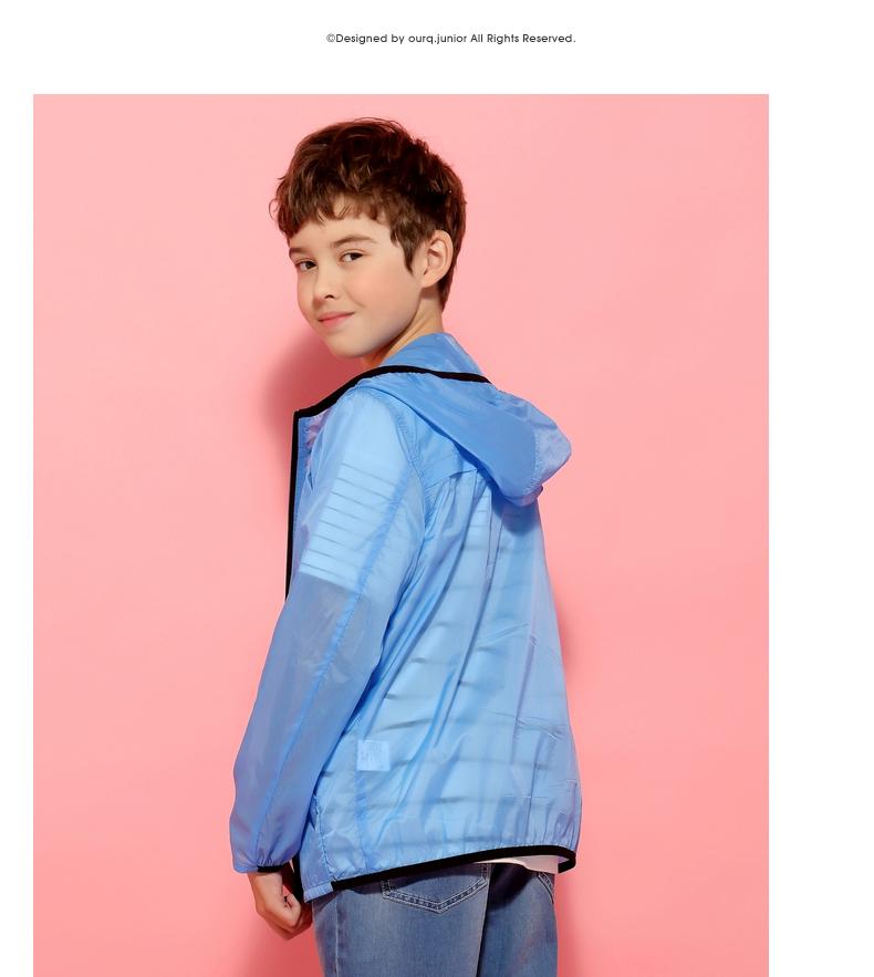 Áo khoác trẻ em Bên tuổi dậy thì áo khoác của cậu bé áo dài
