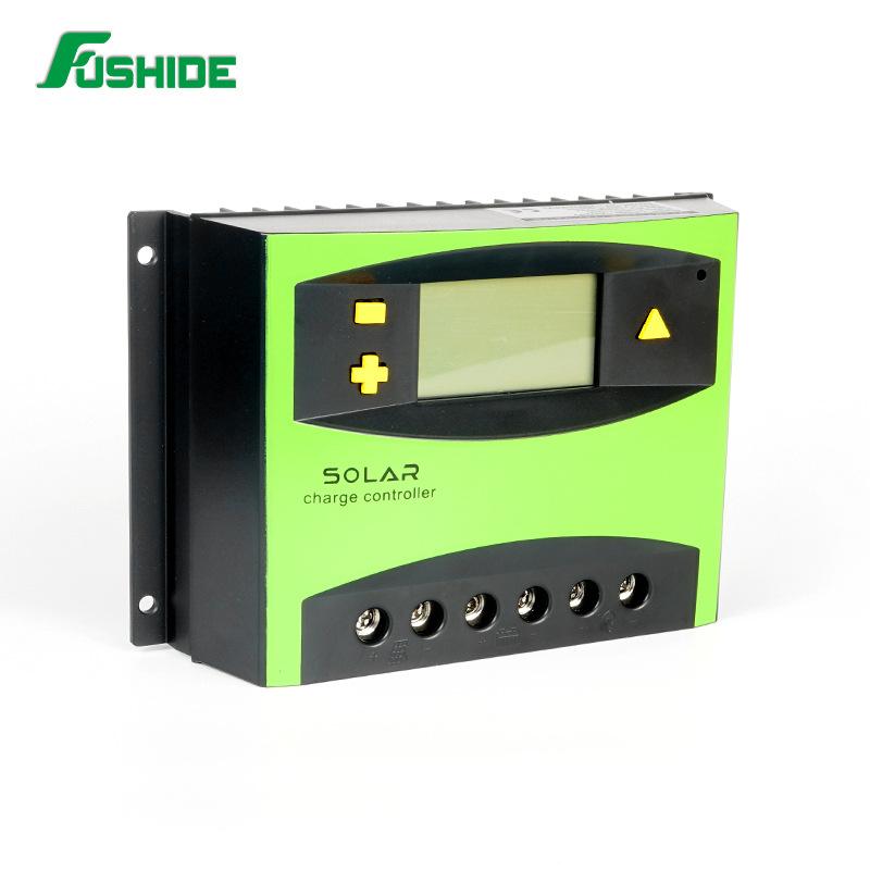 Nhà máy điều khiển sạc năng lượng mặt trời trực tiếp PWM 50A / 60A Giao diện USB kép 12V / 24V
