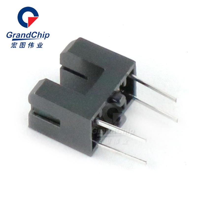 HONGTU Thiết bị điện quang ITR20403 công tắc quang điện xuyên qua khe quang điện chuyển đổi hồng ngo