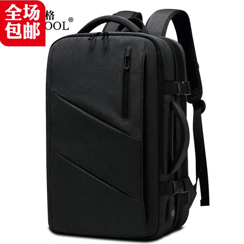 Túi đựng máy vi tính Backpack cho Men Có thể dãn xuống 15.6 -inch Gói vi tính cho dịch vụ kinh doanh