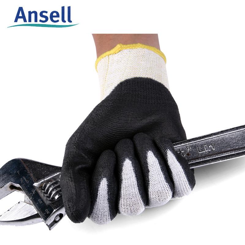 MN Găng tay chống cắt 11-624 gloves Găng tay cọ chống trơn trượt Găng tay nitrile