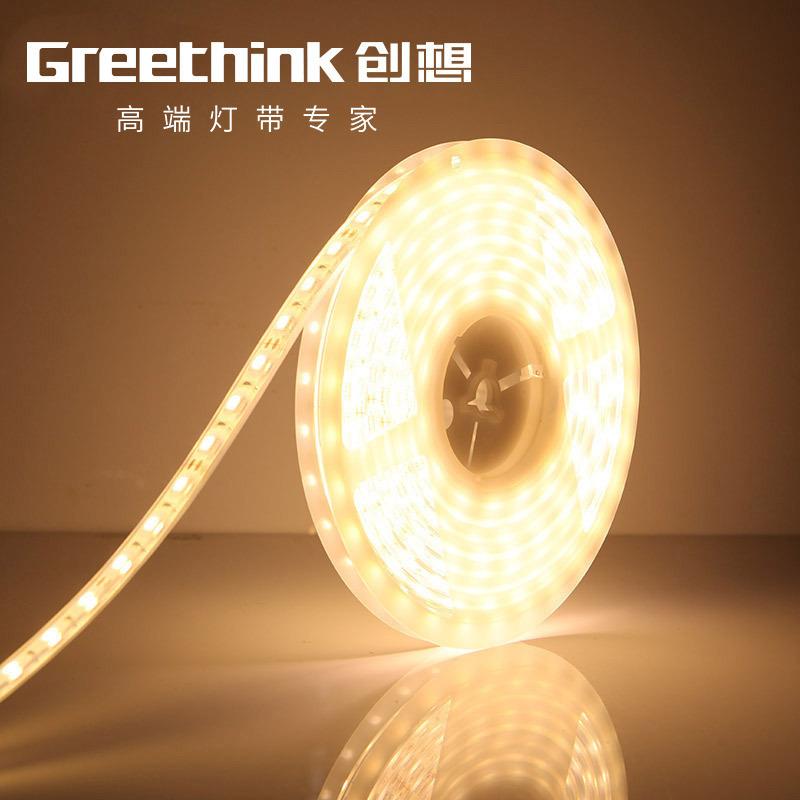 Greethink Đèn LED dây Đèn led với đèn điện áp thấp 36V có dải ánh sáng vỏ keo chống thấm ánh sáng vớ