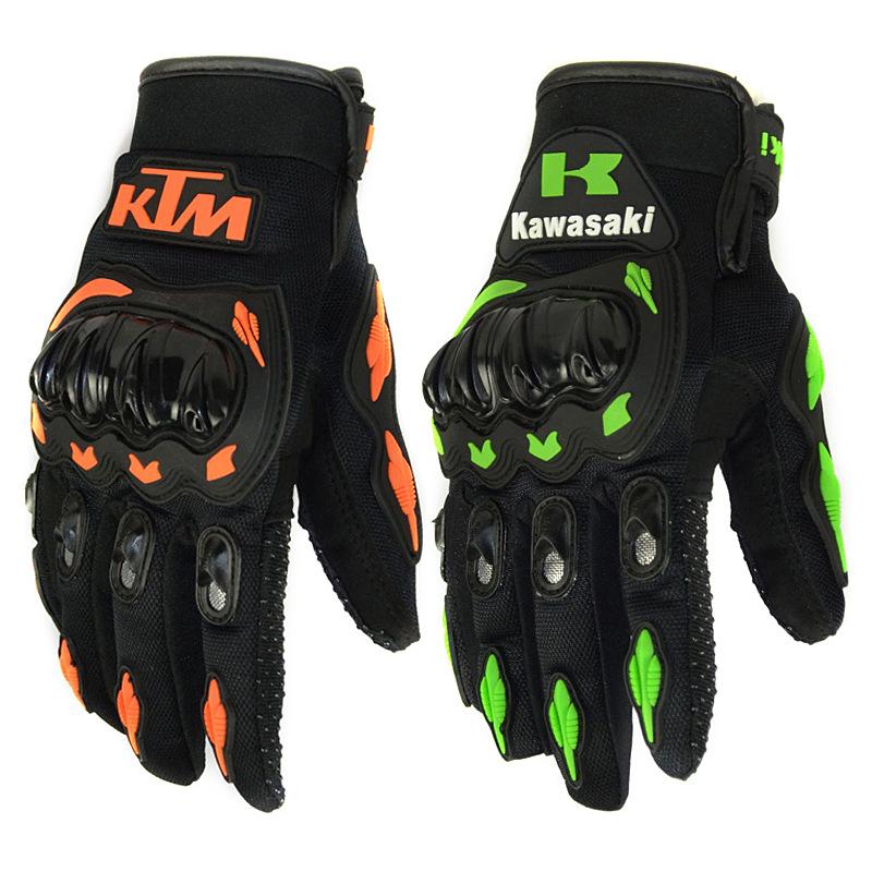 Găng tay bảo hộ Găng tay xe máy Thể thao ngoài trời bảo vệ vỏ cứng Bốn mùa đạp xe đạp điện xuyên quố