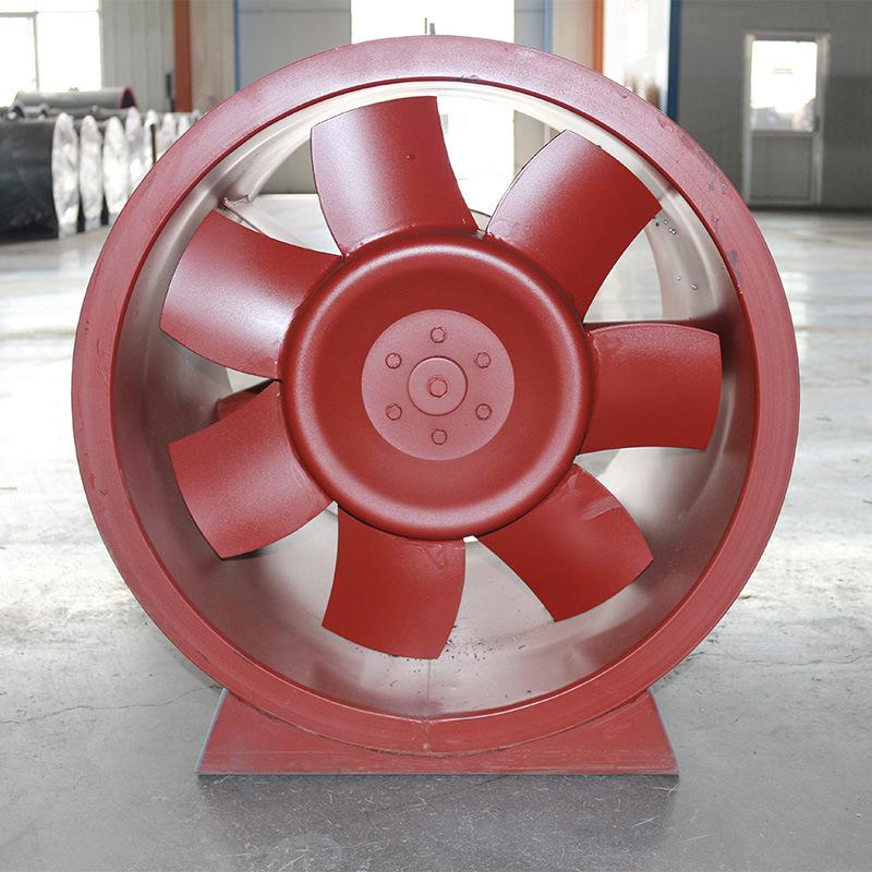 JINGUANG Quạt thông gió Nhà máy sản xuất quạt hướng trục chữa cháy trực tiếp Quạt hút gió hướng trục