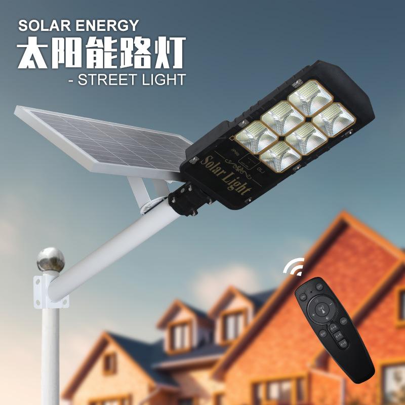 Đèn đường tích hợp năng lượng mặt trời mới