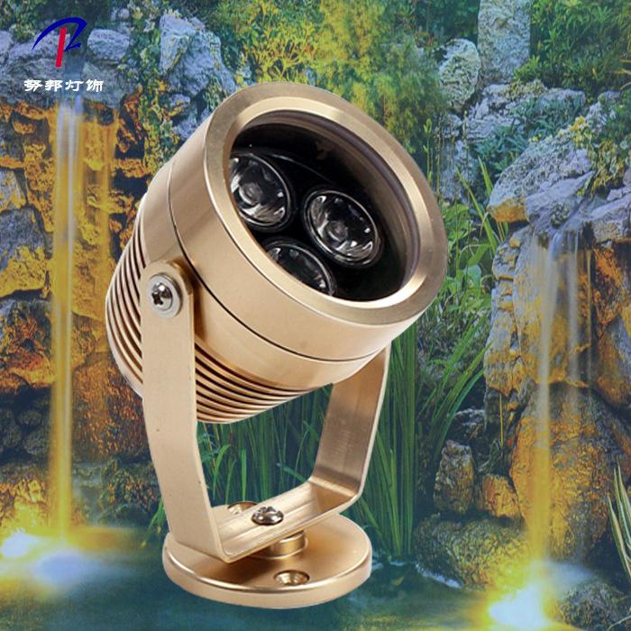 NUBANGDA Đèn LED âm nước Ánh sáng dưới nước led chiếu sáng không thấm nước đài phun nước hồ cá ao án