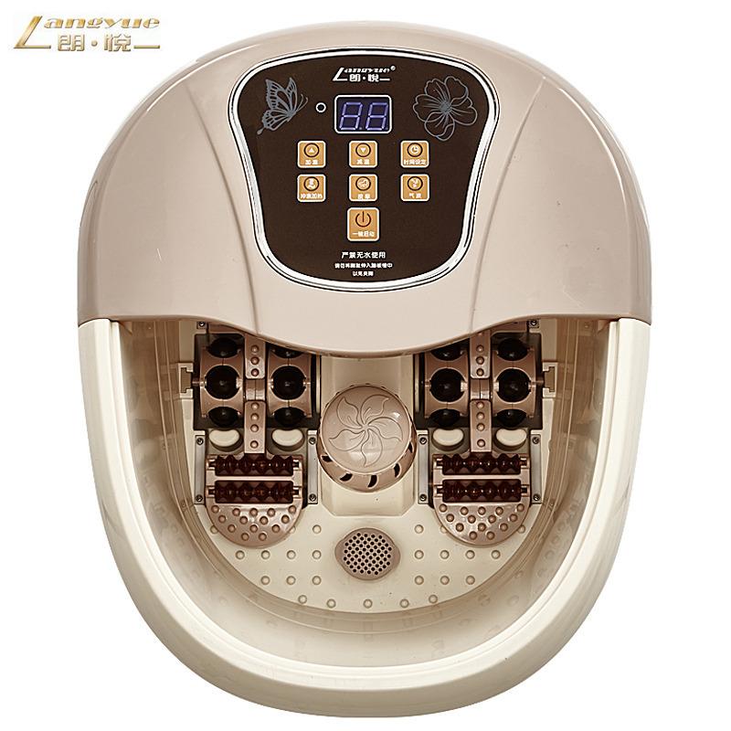 Lang Yue Máy massage LY-819 ngâm chân massage chân tự động sưởi ấm chân bồn tắm bọt điện