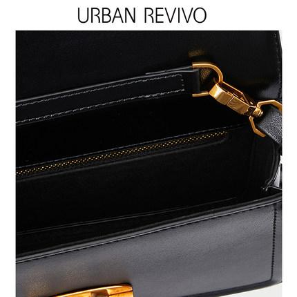 Túi xách nữ thời trang  UR URBAN REVIVO2019 phụ nữ thanh niên mới phụ kiện màu sắc rắn Túi xách AL06