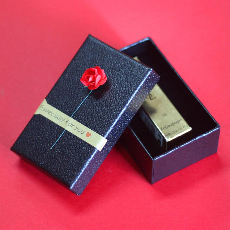 CAIYOU Hộp giấy Tại chỗ bán buôn hộp son môi bao bì nhà máy trực tiếp son môi son môi hộp quà tặng t