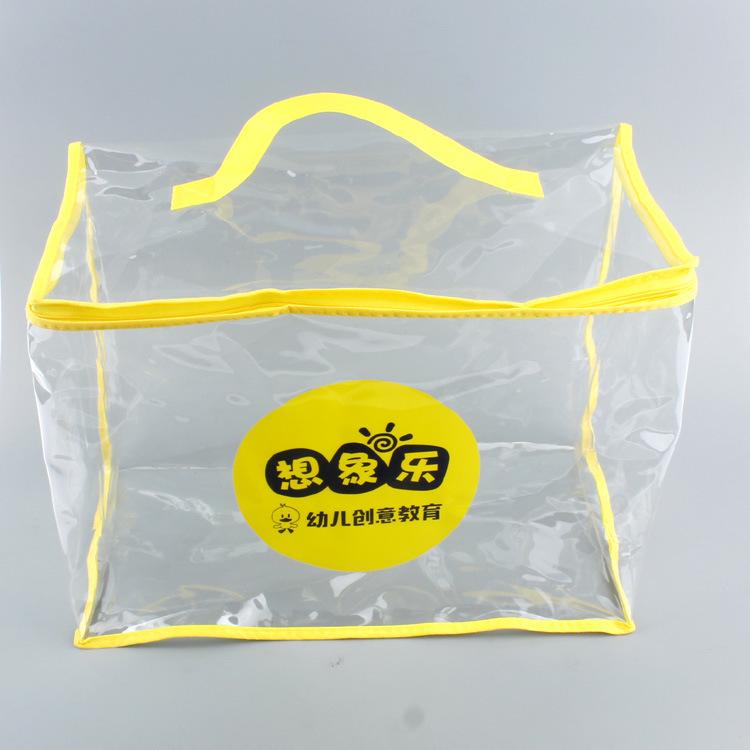 Thị trường bao bì nhựa Professional PVC tùy chỉnh sản xuất túi bảo vệ môi trường và bóng biển bền bề