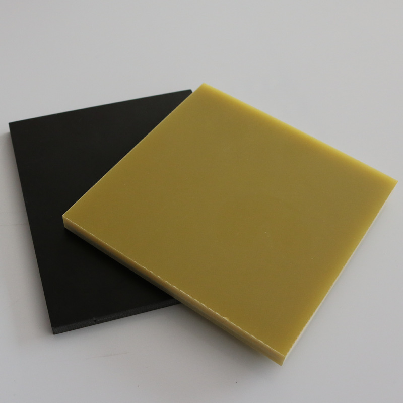 WANRUN Vật liệu cách điện Giá thấp epoxy màu vàng nhiệt độ cao bảng cách nhiệt nhà máy trực tiếp fr-