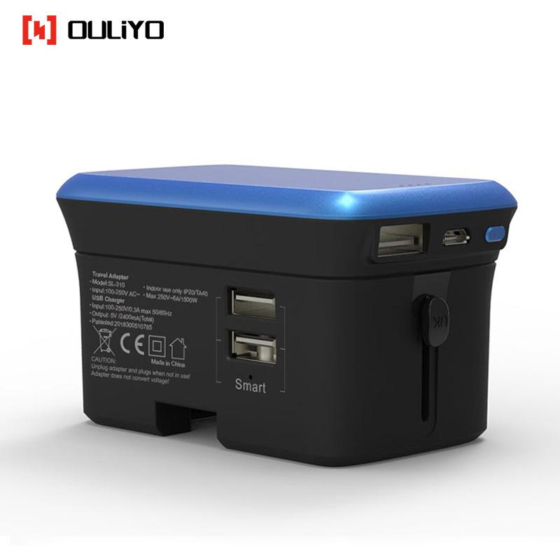 Bộ sạc di động SL-310B Ổ cắm chuyển đổi USB đa chức năng