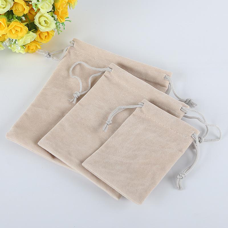 YUZHI Túi đựng trang sức Tại chỗ túi nhung bó túi trang sức túi wenwan trang sức tai nghe lưu trữ tú