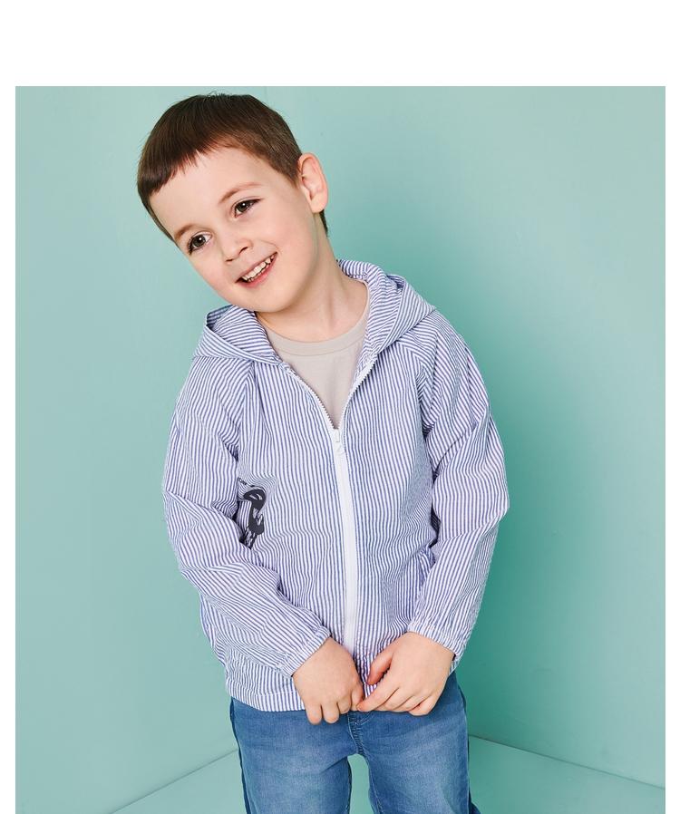 Áo khoác trẻ em Khách hàng của Balabala Boys'Outerwear Boys'Outerwear Boys'Userwear Babies's Sum