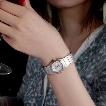 Đồng hồ thông minh  OMEGA Đồng hồ đeo tay nữ Omega Omega Chòm sao toàn cầu Đồng hồ đeo tay nữ 123.20