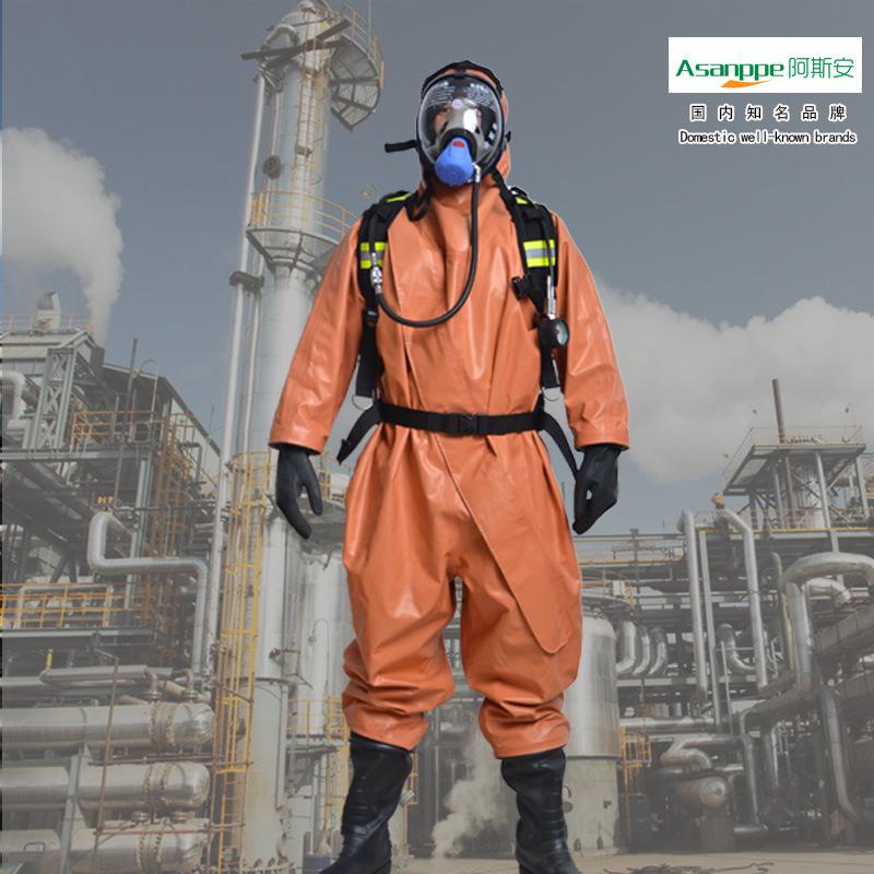 ASANPPE Trang phục chống cháy bảo vệ hóa chất chống thấm axit và kiềm