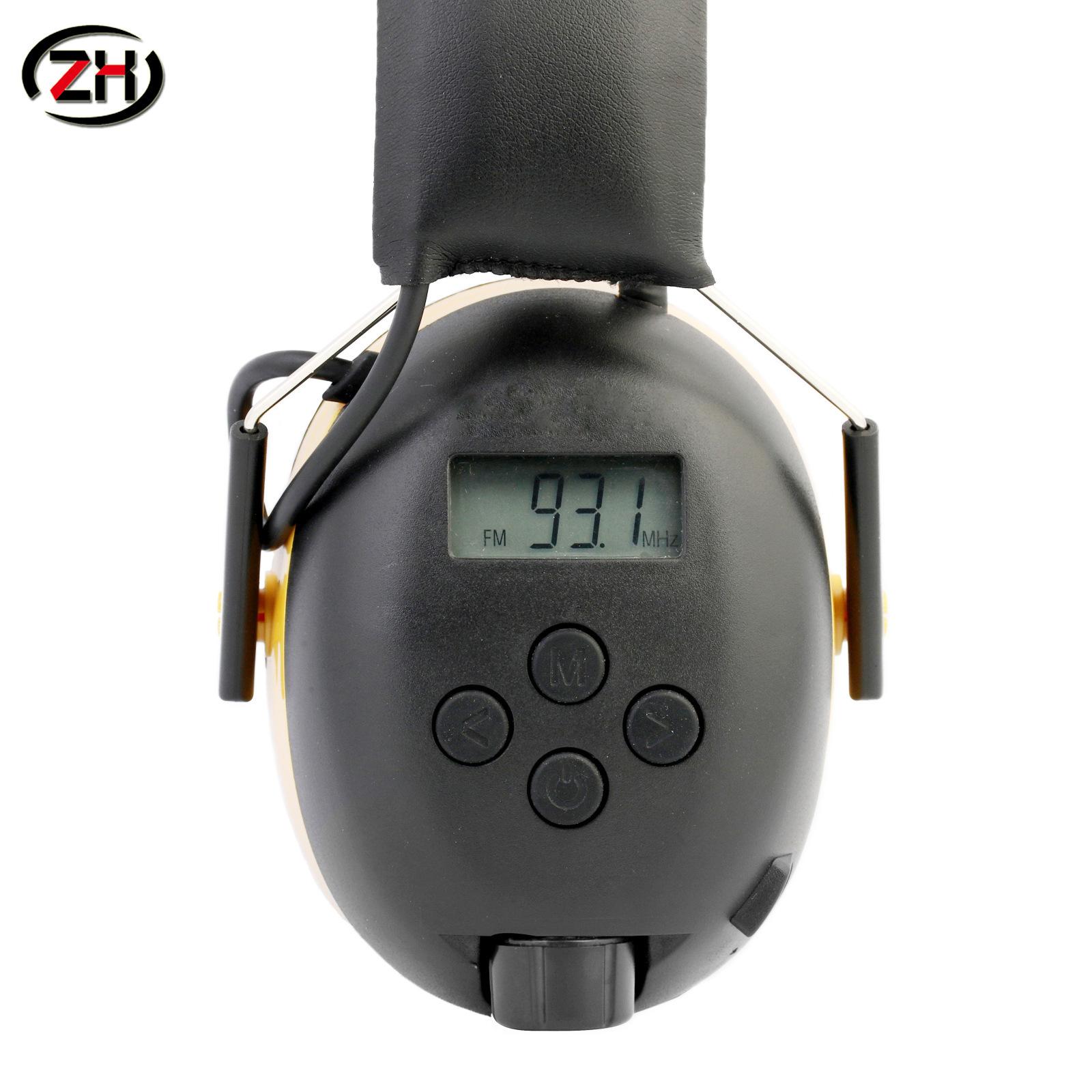 ZH Nút tai chống ồn Nút bịt tai đài FM / AM bảo vệ Giảm tiếng ồn
