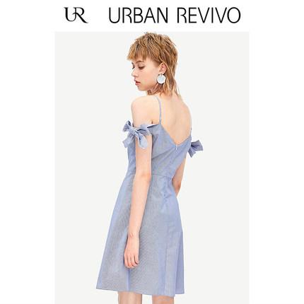Đầm UR Áo hè dành cho nữ thanh niên UR mới chất liệu cotton mỏng Một chiếc váy YU19S7AS2001