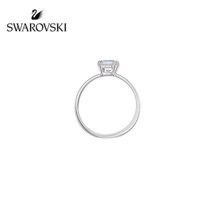 đồ trang trí trang phục Swarovski [Mới] Nhẫn nữ Swarovski ATTRACT đơn giản và linh hoạt để gửi tặng