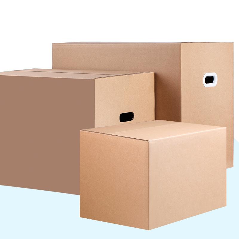 HONGMING Hộp giấy 5 lớp thêm lớn di chuyển thùng carton 60 * 40 * 50 lưu trữ dày lên đặc biệt cứng c