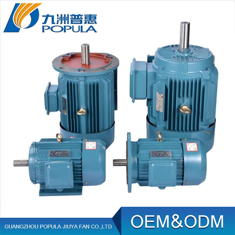 Jiuzhou Mô-tơ điện / Động cơ điện YE2 series (IP55) đồng bộ ba pha hiệu quả cao