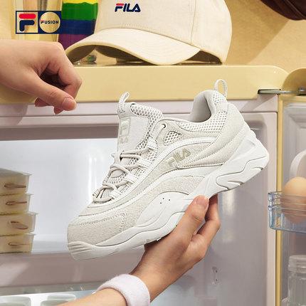 Giày lười / giày mọi đế cao  FILA PHIM FUSION   với cặp đôi RAY mẫu giày cũ nam và nữ giày thể thao