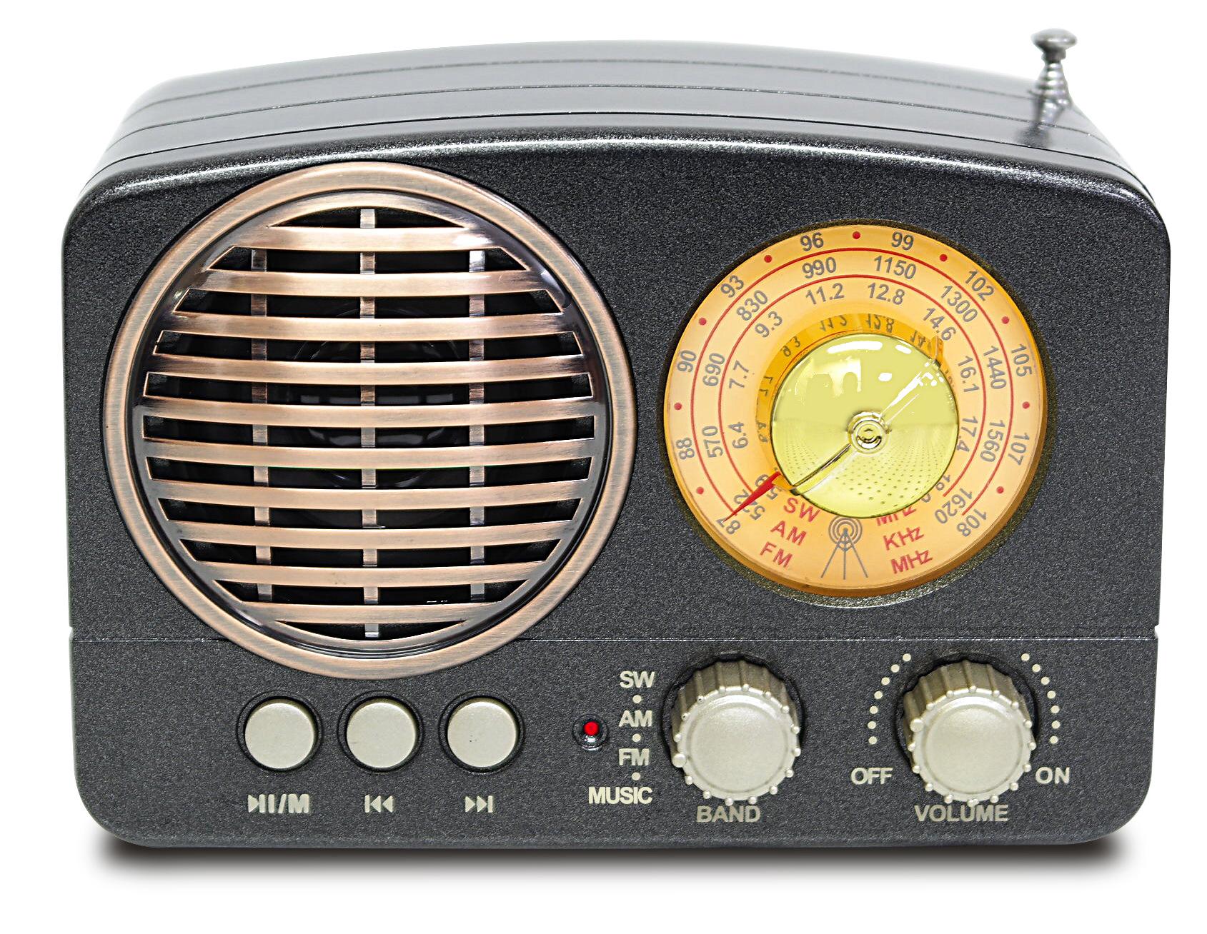 Meier Máy Radio Thương hiệu Tecsun / Desheng Model R-909