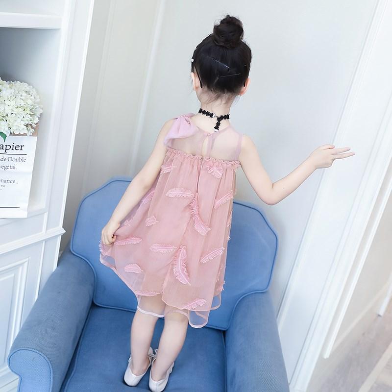 Đầm váy trẻ em Váy mặc hè của cô gái mặc váy đẹp đẹp đôi mặc váy ngắn của công chúa mặc váy đẹp kiểu