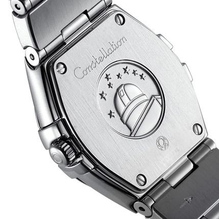 Đồng hồ thông minh  OMEGA Bảo hành toàn cầu Đồng hồ đeo tay nữ Omega chòm sao thạch anh 123.10.24.60