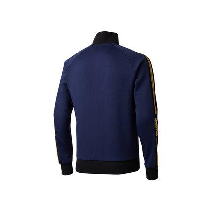 Áo khoác PUMA Hummer chính thức Yang Yang với áo khoác nam Colorblock cổ áo LUXE PACK 579085