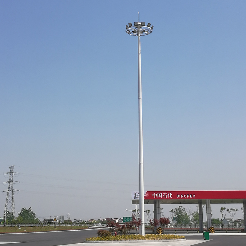 Đèn LED chiếu sáng nơi công cộng  đèn công viên cao 20 mét 25 mét 30 mét