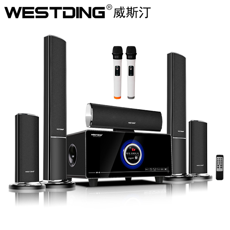 Westing 012 Rạp hát tại nhà 5.1 Bộ loa Bluetooth không dây Loa phòng khách TV