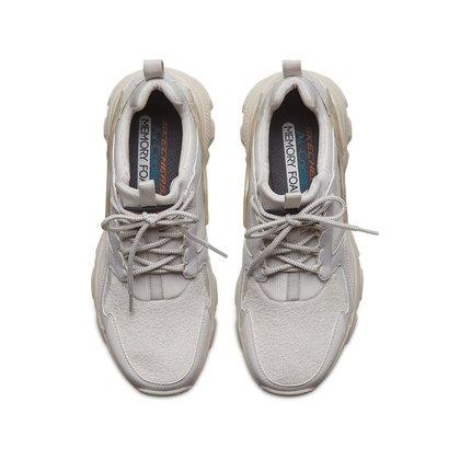 thị trường giày nam Skechers Giày nam Skechers thời trang retro nền tảng giày cũ giày sneaker thường