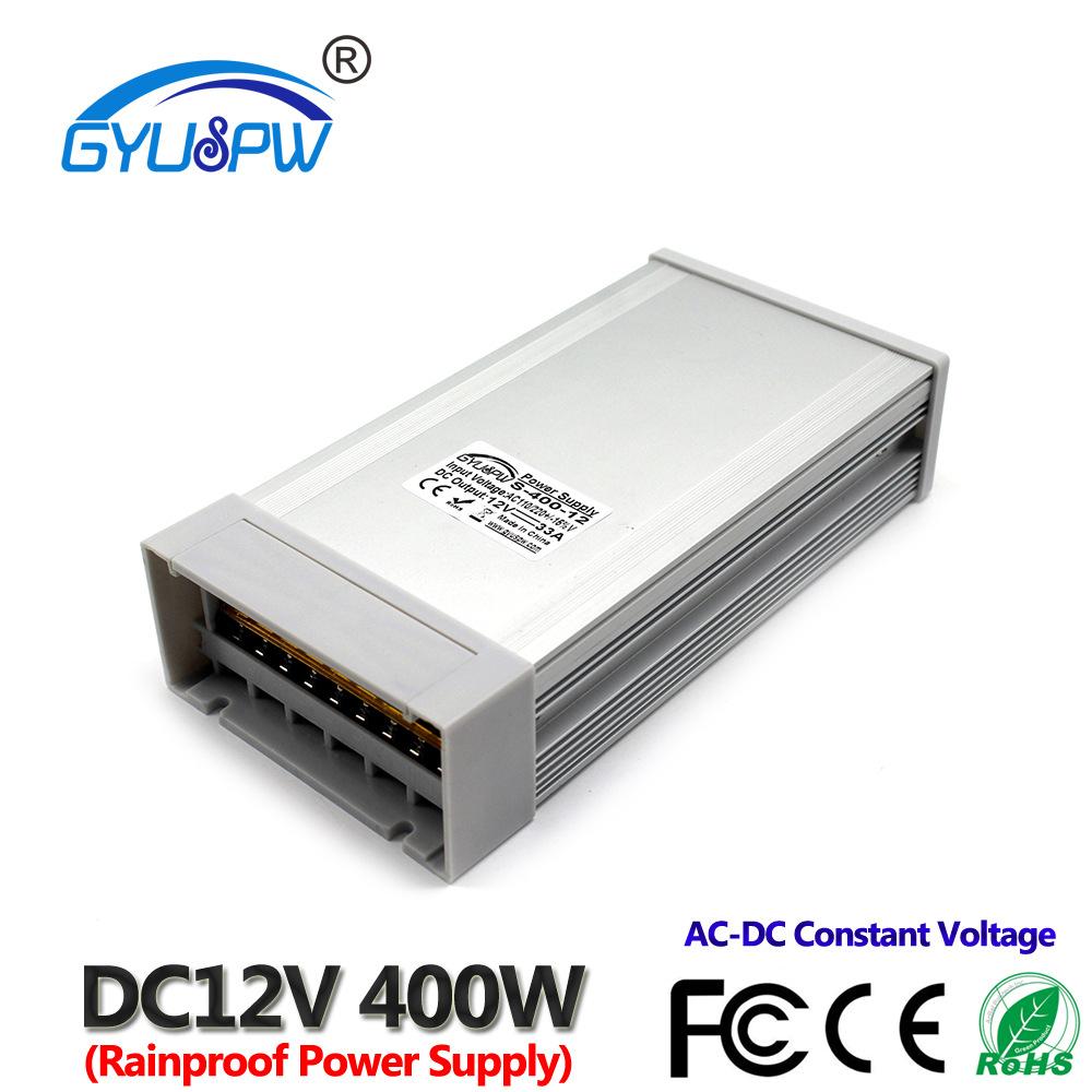 GYUSPW Bộ nguồn chuyển mạch Cung cấp năng lượng chống mưa PCB400W - 12V600W