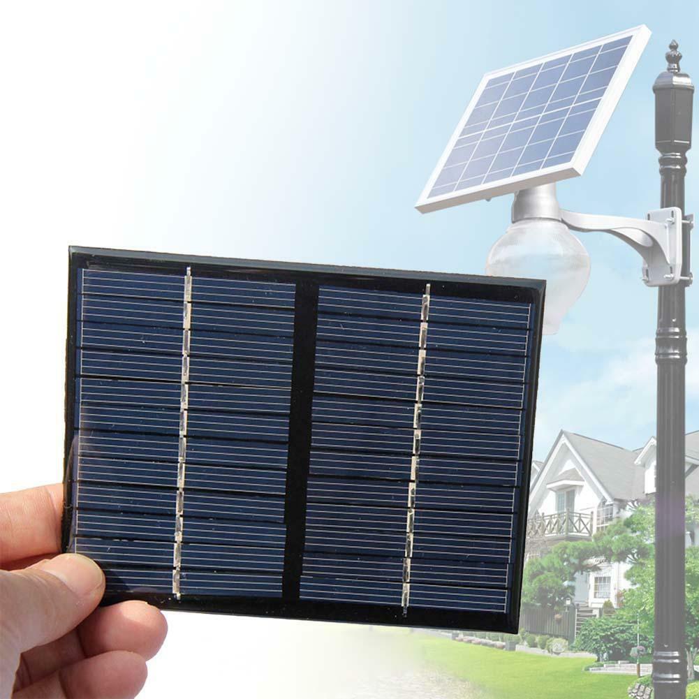 Pin năng lượng mặt trời bền 1,5W12V sạc pin mặt trời Bảng điều khiển năng lượng mặt trời DIY