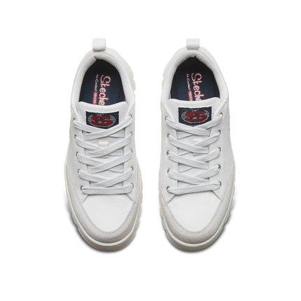 Giày nữ trào lưu Hot  Skechers Skechers 2019 mới đế giày đế dày đế giày vải retro giày trắng nữ 7443