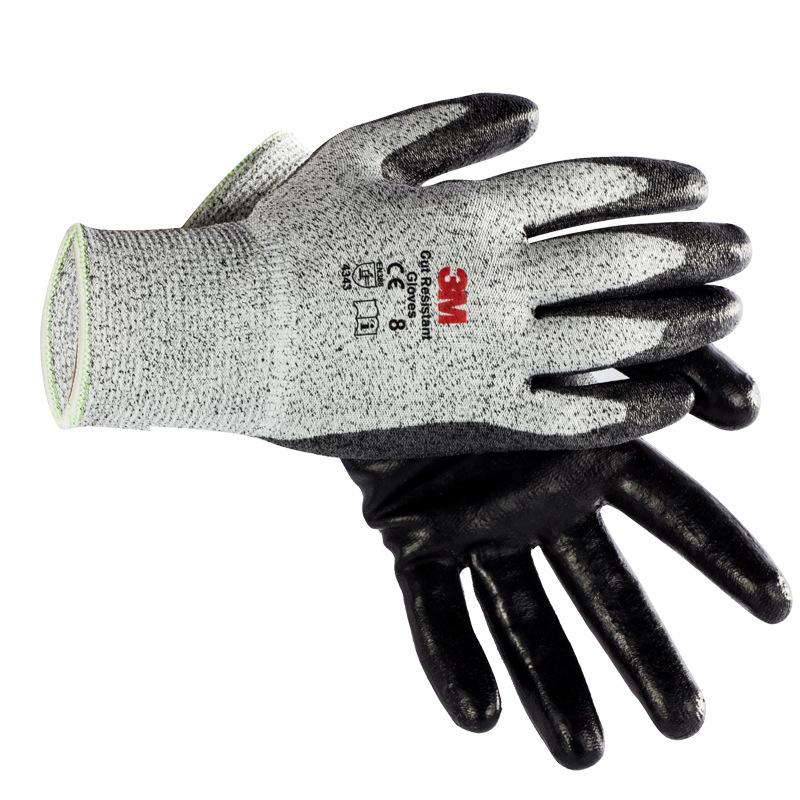 3M Găng tay bảo hộ Găng tay chống cắt 3M Lớp 5 chống cắt cơ học giết cá giết mổ cắt găng tay bảo vệ