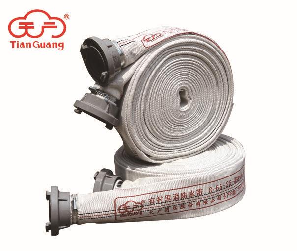 Tianguang Vòi nước chữa cháy PVC cộng với vòi chữa cháy lót 65-8 20 25 mét áp lực cao chịu lửa