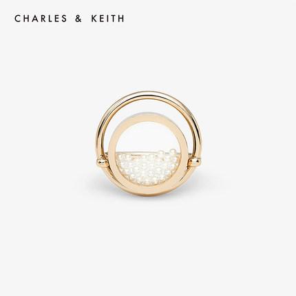đồ trang trí trang phục  CHARLES & KEITH Nhẫn CHARLES & KEITH CK5-31430049 Nhẫn kim loại nữ châu Âu