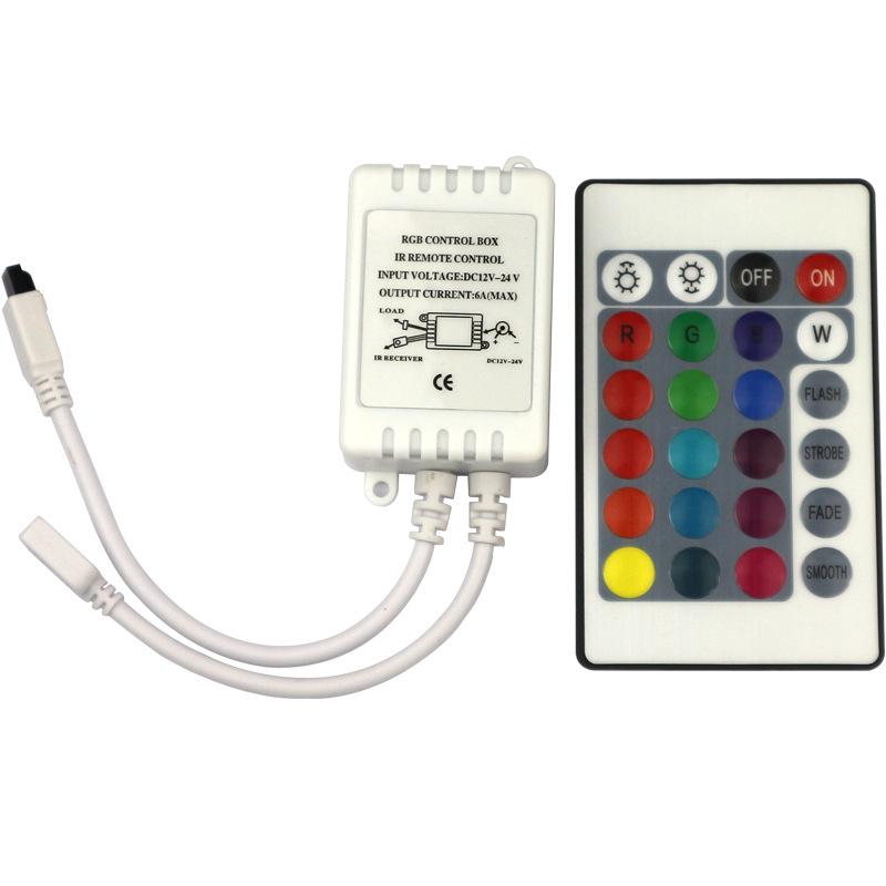 CYTT Công tắc điều chỉnh độ sáng Mô hình vụ nổ led đèn điện áp thấp dimmer ir24 key hồng ngoại rgb đ