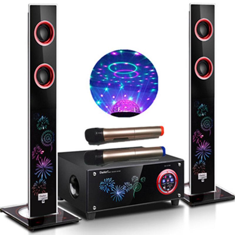 Bộ Dàn Âm Thanh cho phòng khách TV âm thanh cột 2.1 đèn