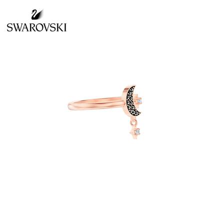 đồ trang trí trang phục Swarovski [Mới] Nhẫn nữ mặt trăng bí ẩn Swarovski SWA SYMBOL để gửi tặng bạn