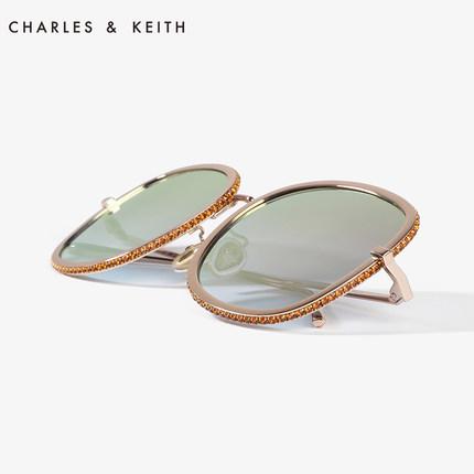 đồ trang trí trang phục  CHARLES & KEITH Kính râm CHARLES & KEITH CK3-71280417 Kính râm nữ đơn giản